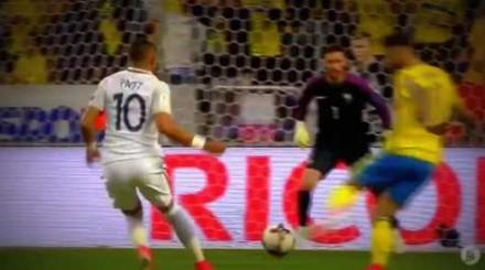 Niesamowite gole w meczu el. MŚ 2017 Szwecja vs Francja!