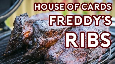 Przepis na żeberka Freddiego z House of Cards