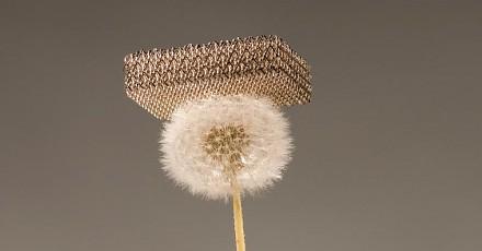 Microlattice - najlżejszy materiał na świecie