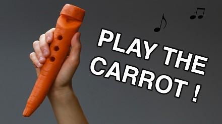 Zamień marchewkę w muzyczny instrument