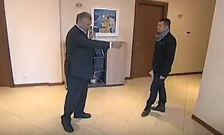 Aleksander Kwaśniewski w roli reżysera