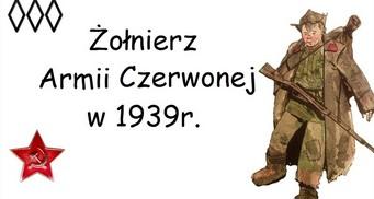 Irytujący Historyk o umundurowaniu żołnierza Armii Czerwonej w 1939 r.