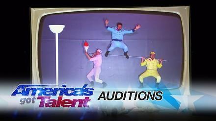 Niesamowity występ trzech akrobatów w amerykańskim Mam Talent
