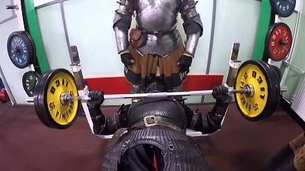 Trening rycerzy przed bitwą