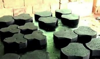 Afrykańska myśl technologiczna. Cegły, kostka brukowa, dachówki z odpadków