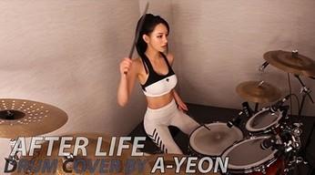 "Koreańska perkusistka i cover utworu ""Afterlife"""