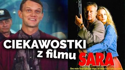 """Cezary Pazura i ciekawostki z filmu """"Sara"""""""