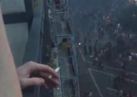 Zamieszki w Hamburgu z trochę innej perspektywy