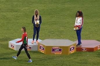 Zwyciężczyni zeszła z podium, bo zagrali hymn innego kraju