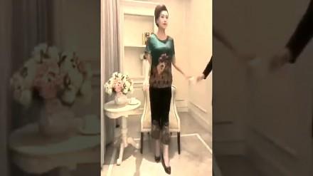 Chińska modelka pracuje na akord