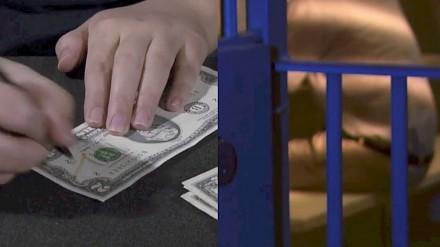 Amerykanin aresztowany za płacenie gotówką