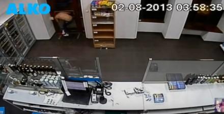 Mordo, czekaj - filmik z włamania do sklepu