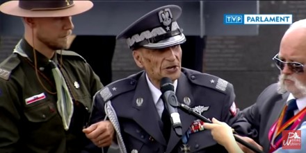 Wzruszające przemówienie 100-letniego Powstańca Warszawskiego