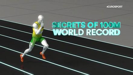 Eurosport szczegółowo analizuje fenomen szybkości Usaina Bolta