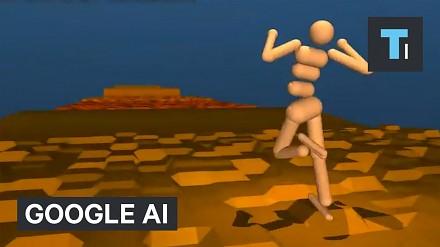 Sztuczna inteligencja od Google samodzielnie nauczyła się chodzić