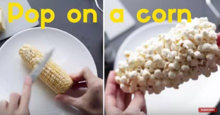 Jak zrobić popcorn na kolbie