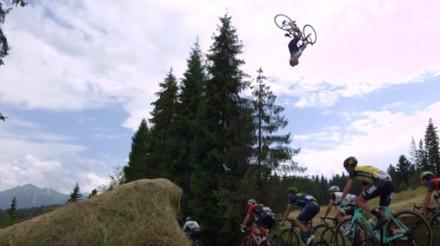 Szymon Godziek przeskoczył nad Tour de Pologne!