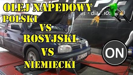 Polska vs Rosja vs Niemcy - test olejów napędowych od M4K