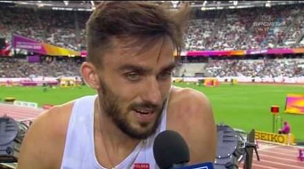 Nietakt dziennikarza wkurzył polskiego biegacza, Kszczot przerwał rozmowę!