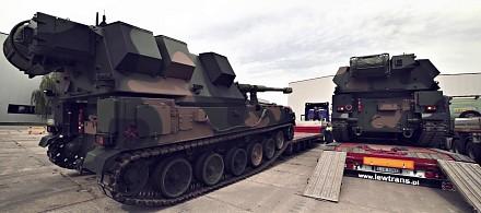 Polska ciężka artyleria - samobieżne haubice KRAB