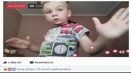 Co robią dzieci na Facebooku? Rozkręcają imprezę