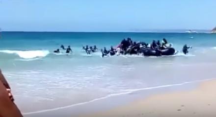 Niespodzianka na plaży w Hiszpanii