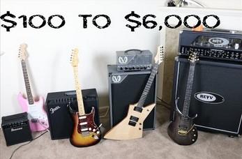 Różnica w brzmieniu między tanim a drogim sprzętem gitarzysty