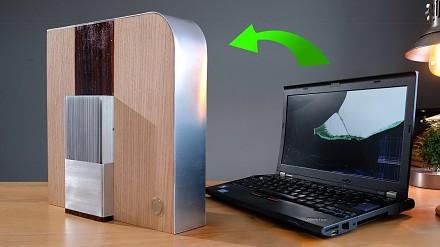 Zamień stary i zepsuty laptop w elegancki komputer HTPC