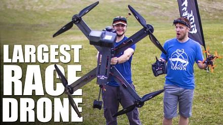 Największy wyścigowy dron