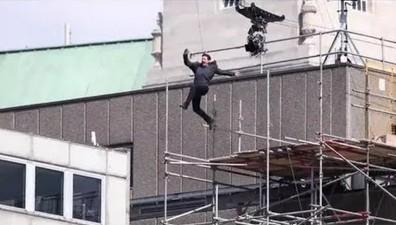 Tom Cruise nabawił się kontuzji podczas kręcenia nowego Mission Impossible
