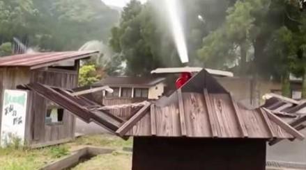 Automatyczny system gaśniczy w japońskiej wiosce