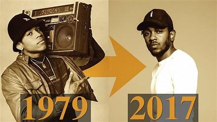 Ewolucja muzyki hip-hopowej w latach 1979 - 2017