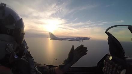 Duńskie F-16 przechwytują rosyjski bombowiec Tu-95 nad Bałtykiem