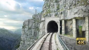 Relaksująca przejażdżka z Baru do Bijelo Polje: 102 tunele, 96 mostów, 1029 m różnicy wysokości