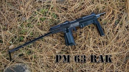 Oryginalna polska broń - PM 63 Rak