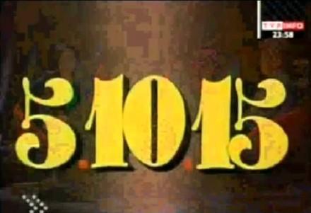 Kto pamięta? Czołówka programu 5-10-15