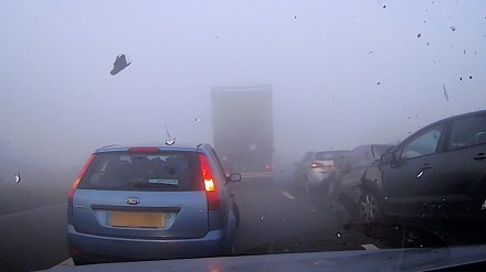 Jedziesz, jedziesz a tu mgła