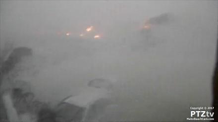 Huragan Irma uderzył. Zobacz ostatnie zarejestrowane przez kamerę nagranie