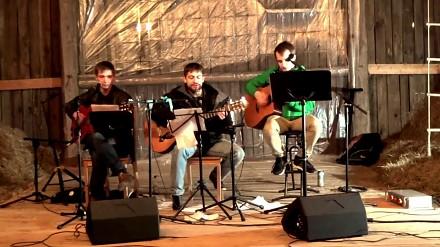 Poszukiwacze śpiewają czeską szantę