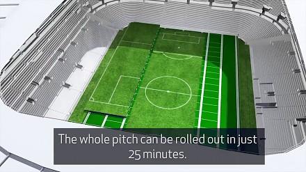 Projekt murawy nowego stadionu Tottenhamu