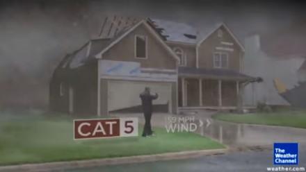 Różnica pomiędzy huraganami kategorii 1-5 na krótkim filmiku