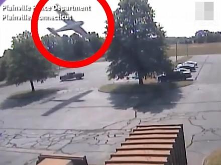 Cessna wpadła na drzewo w Connecticut