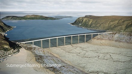 Niesamowite rozwiązania obiektów inżynierskich na norweskim odcinku trasy E39