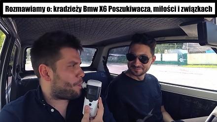 Znanemu youtuberowi (milion subów) ukradli BMW X6