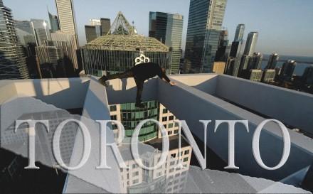 Nie dla osób z lękiem wysokości. Na dachu Toronto