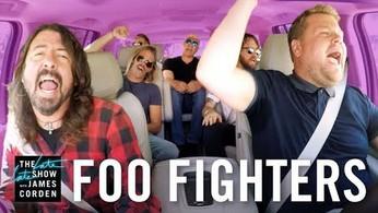 """Do Jamesa Cordena i jego """"Carpool Karaoke"""" dołączył zespół Foo Fighters"""