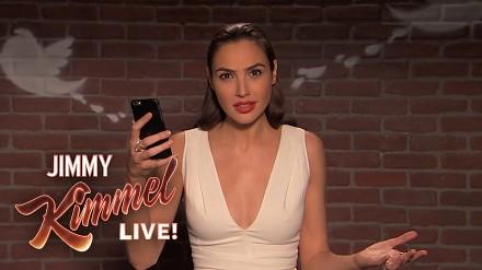 Dlaczego Gal Gadot nie ma cycków, czyli Jimmy Kimmel Live! - Mean Tweets
