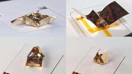 Zmiennokształtny robot origami