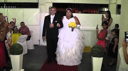 Epickie wejście na ślub zafundowane przez DJ-a