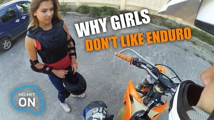 Dlaczego kobiety nie lubią enduro?